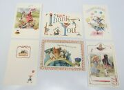 6 Assorted Vera The Mouse Hallmark Greeting Cards And Envelopes 1997 7