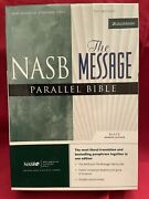 Nasb/the Message Parallel Bible By Zondervan Staff 2004, Bonded Black Leather