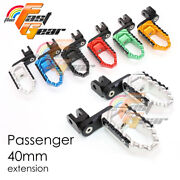 Cnc 40mm Passenger Trc Foot Pegs For Ducati Monster S4 All Year