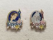 Disney Tangled Flynn Rider And Maximus The Horse Lot Of 2 Disney Pins Booster Set