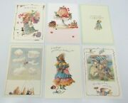 6 Assorted Vera The Mouse Hallmark Greeting Cards And Envelopes 1997 14