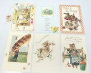 6 Assorted Vera The Mouse Hallmark Greeting Cards And Envelopes 1997 16