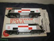 Lionel 6-8851 New Haven Dual Motor F-3 A-a Power And Dummy Diesel Loco Set Mib