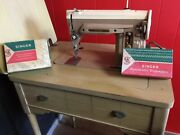 Singer Sewing Machine Table Model With Zig Zag Option Pickup Ft. Lauderdale