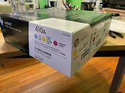 Hp 410a | Cf411a, Cf412a, Cf413a | 3 Toner Cartridges | Works With Hp Color Lase