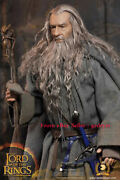 Asmustoys Crw001 1/6 Lord Of The Rings Grey Robe Wizard Gandalf Action Figure