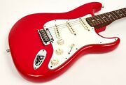2015 Fender Limited American Stratocaster Strat Solid Rosewood Neck Hot Rod Red