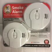 6 Kidde Code 1 Smoke Alarms Code One Value Pack 10 Year Battery Included