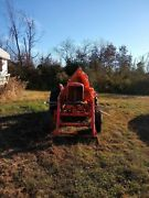 Allis Chalmers Tractor Wd 45 With Attachments Vintage Set Doesnand039t Run