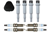Bosch Ignition Coil And Spark Plugs Platinum Set Of 4 For Mini Cooper Countryman