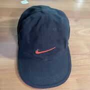 Rare Vtg Nike Embroidered Big Shadow Swoosh Spell Out Snapback Hat Cap 90s 2000s
