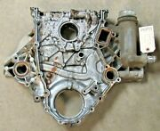 2011-2014 F250 F350 Super Duty 6.7 Diesel Engine Timing Cover Used Oem 54500