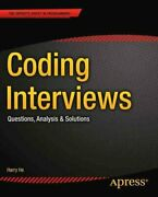 Coding Interviews Questions Analysis Andamp Solutions By Harry He 9781430247616