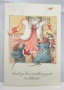 5 Vera The Mouse Hallmark Congratulations Greeting Cards And Env 1997 Lot 133