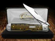 Case Xx Cheetah Knife Celtic Knot Antique Bone Scrolled 1/200 Knives