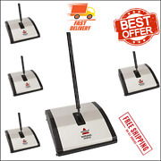 Bissell Natural Sweep Manual Carpet And Floor Sweeper New,..
