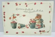 5 Vera The Mouse Hallmark Friendship Greeting Cards And Envelopes 1997 Lot 139