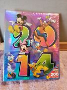 New Disney 2014 Photo Picture Album Holds 200 4 X 6 Pictures Mickey Minnie