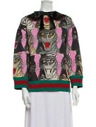 Angry Cat Sweater Nwt M