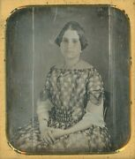 Young Blind Woman Without Spectacles Nancy Howard 1/6 Plate Daguerreotype
