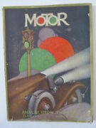 Motor Magazine January 1933 Annual Show Number - Automobile Ads, Articles, Etc.