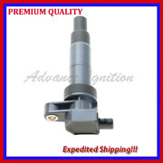 1pc Ignition Coil Kka1544 For 2010 2011 2012 2013 Hyundai Genesis Coupe 3.8l V6