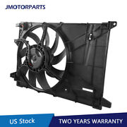 Radiator Cooling Fan Assembly For 2016-2020 Chevrolet Spark Replaces 42426778