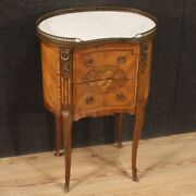 French Bedside Table Antique Style Napoleon Iii Furniture Nightstand Marble Top