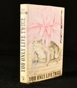 1964 You Only Live Twice First Edition James Bond Ian Fleming 007 Novel