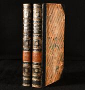 1827 2vol Journey From Buenos Ayres Captain Andrews 1st Edition Fine Binding
