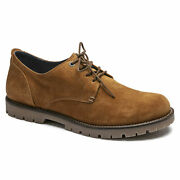 Birkenstock Gilford Low Sahara Suede Lace Up Men's Shoes