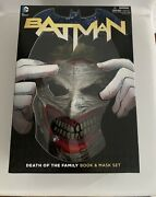 Batman-mint Condition Death Of The Family Book And Mask Set -50 Free Shipping
