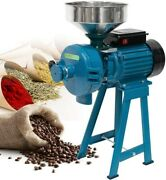 3000w Electric Poultry Feed Mill Wet Anddry Grinder Corn Grain Rice Wheat Machine