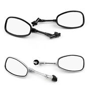 10mm Motocycle Rear View Mirrors For Suzuki Gsf250 Bandit 250/400/600 Sv1000