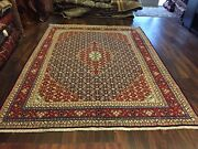 """S.antique Genuine Hand Knotted Vintage Classic Area Rug Carpet 7'6""""x10'3"""",2858"""
