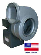 Centrifugal Blower Industrial - 7-7/8 Ports - 1.5 Hp - 115/230v 1 Ph 1550 Cfm