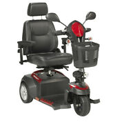 Drive Medical Ventura Power Mobility Scooter, 3 Wheel, 20 Captains Seat