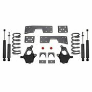 Maxtrac K330946-8 Suspension Lowering Kit Front Coil Spring And Spindle Rear New