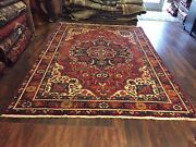 """S.antique Genuine Hand Knotted Vintage Classic Area Rug Carpet 7'7""""x11'2"""",864"""