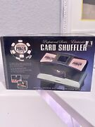 World Series Poker Electronic Card Shuffler Brand New In The Box Manual Included
