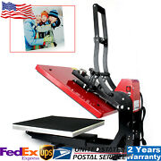 16x20 Magnetic Semi-automatic Heat Press Machine For T-shirt, Clothes 2000w Usa
