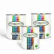 Gallon Base Coat Clear Coat And Primer 213m Graystone Metallic For Buick 2004-2014