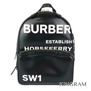 Horse Ferry Print 8023038 Black Womenand039s Backpack From Japan