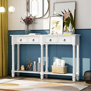 Home Console Table Sofa Table With Storage Console Tables With Drawers And Shelf