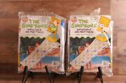 Lot Of 2 Simpsons Inflatable Air Mattress By Mattel Please Read Nip