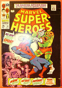 Marvel Super-heroes 14 Spider-man Giant Size 1968 Silver Age Unrestored Beauty