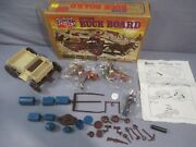 Legends Of The West Action Buck Board Wagon Set Vintage Empire 1978