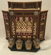 """Department 56 Christmas In The City """"yankee Stadium"""" New In The Box All Lit Up"""