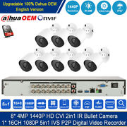 H.265+16 Channel 1080p Hdmi Dvr 1tb Hdd 2mp/4mp Outdoor Ir Cctv Security System