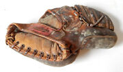 Rawlings Stan Musial Pro Model Pmm Vintage Leather Baseball Glove Mitt